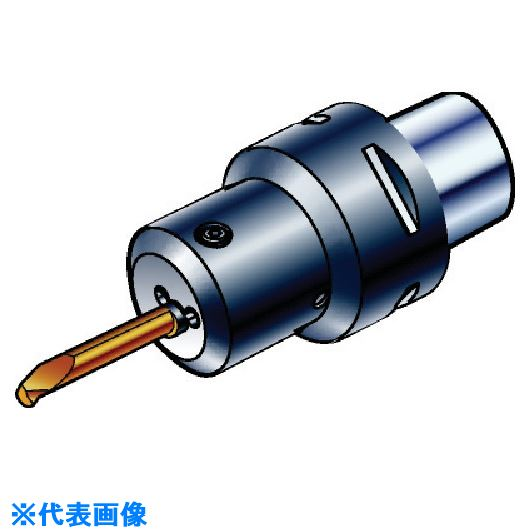 ■サンドビック コロターンXS 回転工具用アダプタ  〔品番:C6-CXS-95-04〕[TR-5681910]