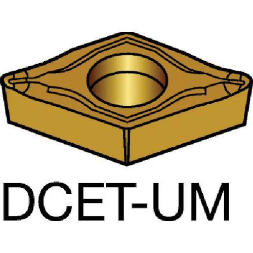 ■サンドビック コロターン107 旋削用ポジ・チップ 1125 1125 10個入 〔品番:DCET〕[TR-5698413×10]