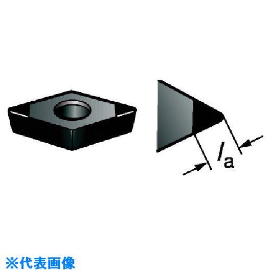 ■サンドビック コロターン107 旋削用CBNポジ・チップ 7025 7025 5個入 〔品番:DCGW070208S01030F〕[TR-5698821×5]