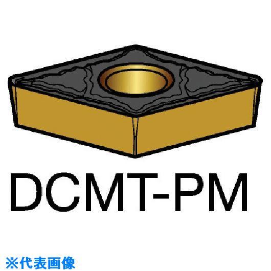 ■サンドビック コロターン107 旋削用ポジ・チップ 1525 1525 10個入 〔品番:DCMT〕取寄[TR-5699673×10]