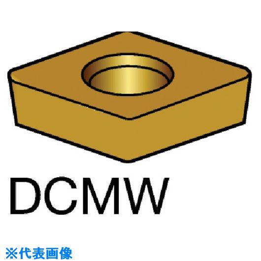 ■サンドビック コロターン107 旋削用ダイヤモンドポジ・チップ CD10 CD10 5個入 〔品番:DCMW〕[TR-5700426×5]