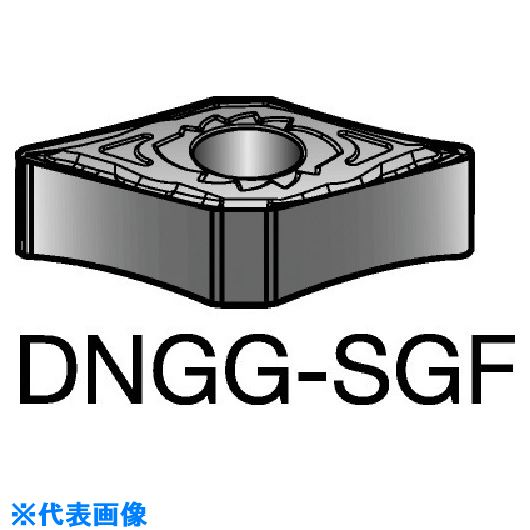 ■サンドビック T-MAX P 旋削用ネガ・チップ S05F S05F 10個入 〔品番:DNGG〕[TR-5701571×10]