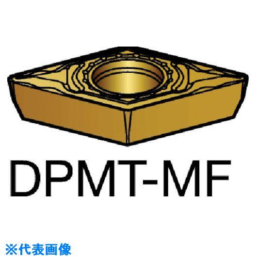 ■サンドビック コロターン111 旋削用ポジ・チップ 2025 2025 10個入 〔品番:DPMT〕[TR-5705835×10]