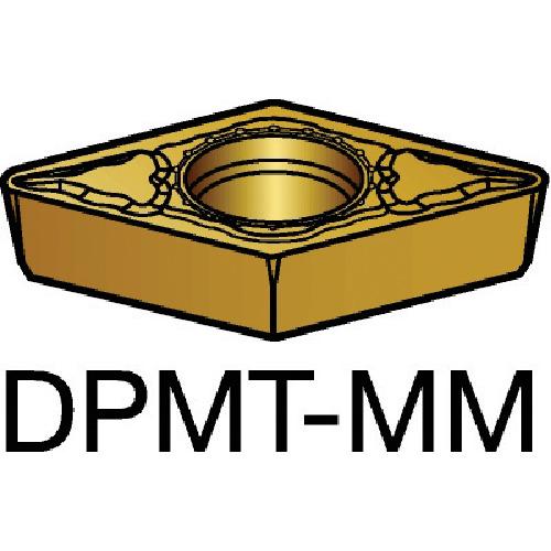 ■サンドビック コロターン111 旋削用ポジ・チップ 2025 2025 10個入 〔品番:DPMT〕[TR-5705843×10]