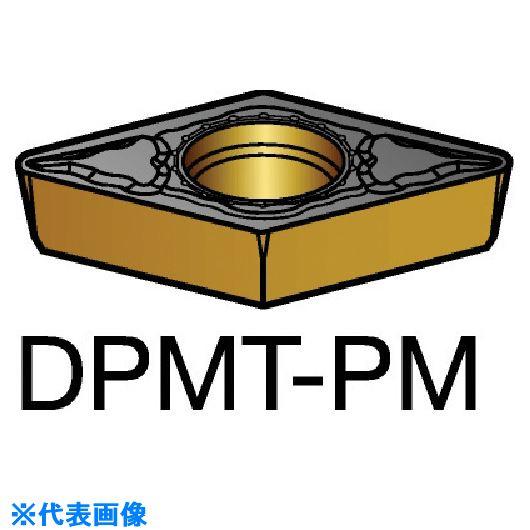 ■サンドビック コロターン111 旋削用ポジ・チップ 1525 1525 10個入 〔品番:DPMT〕取寄[TR-5705886×10]
