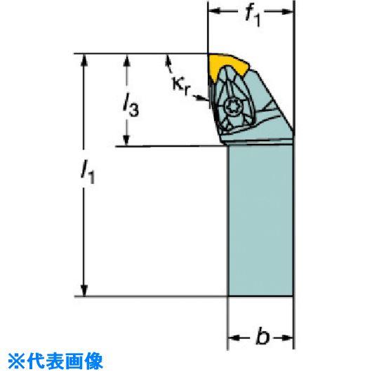 ■サンドビック コロターンRC ネガチップ用シャンクバイト  〔品番:DWLNR〕[TR-5707757]