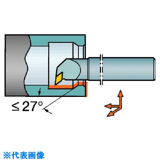 ■サンドビック コロターン107 ポジチップ用超硬ボーリングバイト  〔品番:E16R-SDUCR〕取寄[TR-5708249]