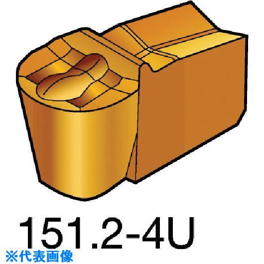 ■サンドビック T-MAX Q-カット 突切り・溝入れチップ 235 235 10個入 〔品番:N151.2-800-60-4U〕[TR-5725305×10]