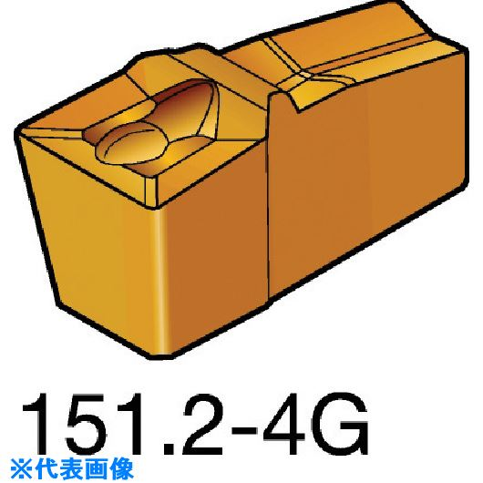■サンドビック T-MAX Q-カット 突切り・溝入れチップ 1125 1125 10個入 〔品番:N151.2-A250-60-4G〕取寄[TR-5726239×10]