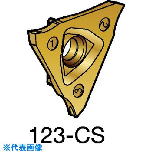 ■サンドビック コロカット3 突切り加工用チップ 1125 1125 10個入 〔品番:R123U3-0100-1000-CS〕取寄[TR-5735114×10]