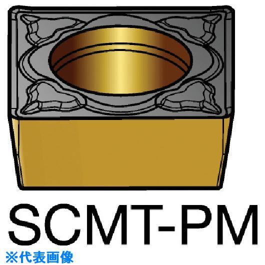 ■サンドビック コロターン107 旋削用ポジ・チップ 1525《10個入》〔品番:SCMT〕[TR-5782309]