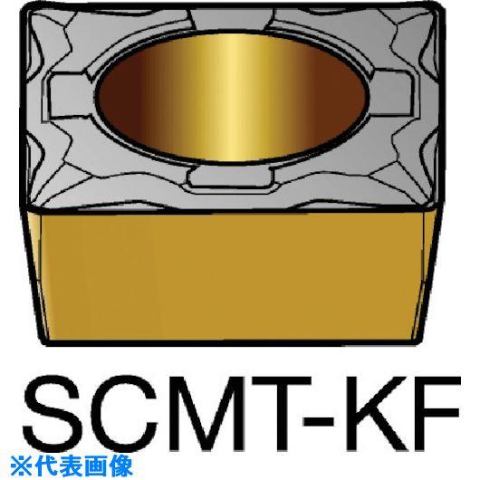 ■サンドビック コロターン107 旋削用ポジ・チップ 3005《10個入》〔品番:SCMT〕[TR-5782333]