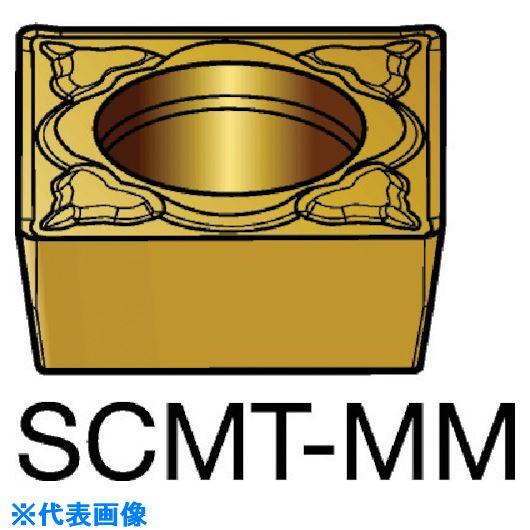 ■サンドビック コロターン107 旋削用ポジ・チップ 1125 1125 10個入 〔品番:SCMT〕[TR-5782821×10]