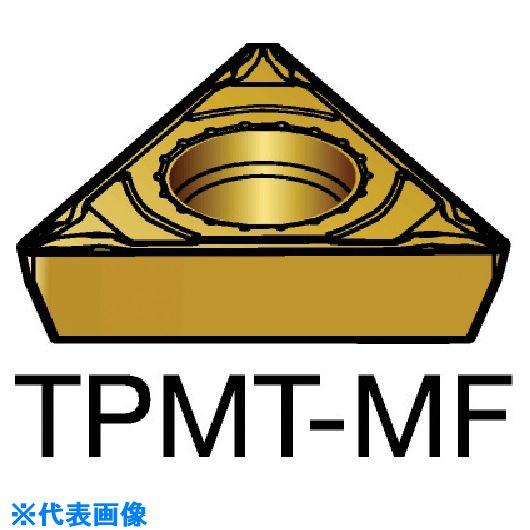 ■サンドビック コロターン111 旋削用ポジ・チップ 1125 1125 10個入 〔品番:TPMT〕取寄[TR-5798337×10]