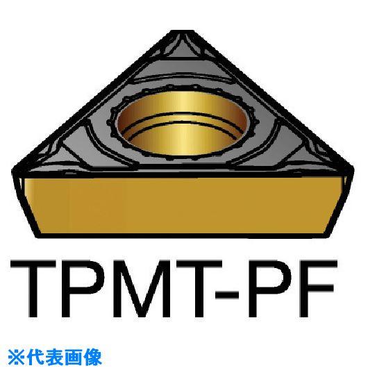 ■サンドビック コロターン111 旋削用ポジ・チップ 1515 1515 10個入 〔品番:TPMT〕[TR-5798388×10]