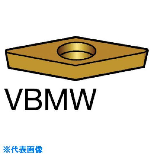 ■サンドビック コロターン107 旋削用CBNポジ・チップ CB20 CB20 5個入 〔品番:VBMW〕[TR-5800706×5]