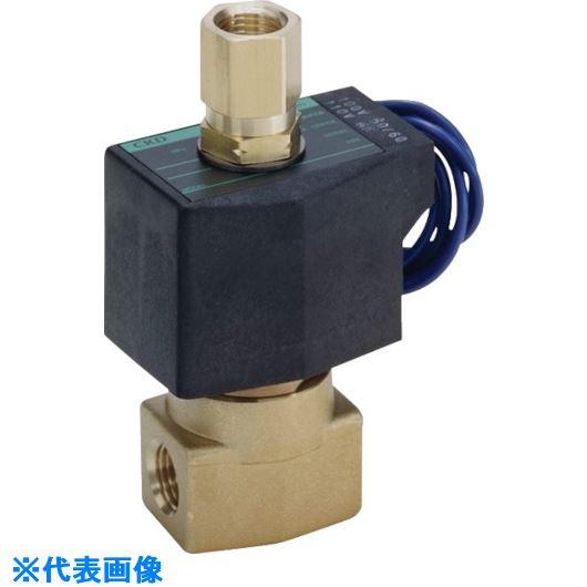 ■CKD 直動式3ポート電磁弁(マルチレックスバルブ)〔品番:AG41-02-2-02G-AC200V〕[TR-5810183]