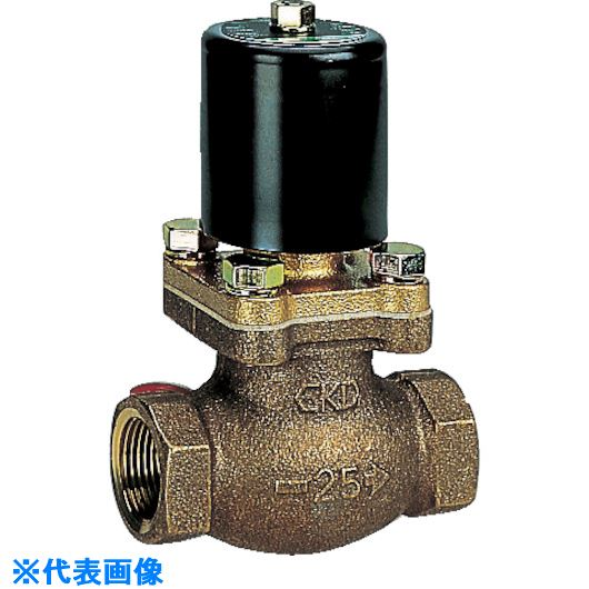 ■CKD 水用パイロットキック式2ポート電磁弁〔品番:PKW-12-27-AC200V〕[TR-5822157]