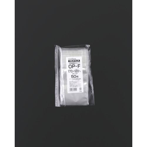 ■セイニチ チャック袋 「ラミグリップ」 OP-F 平袋タイプ 170×120  〔品番:OP-F〕[TR-5843502]