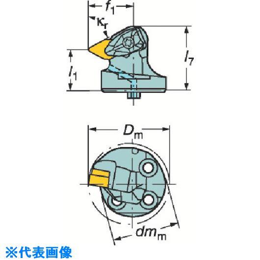 ■サンドビック コロターンSL コロターンRC用カッティングヘッド  〔品番:570-DDXNL-40-15-L〕取寄[TR-6012981]
