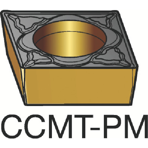■サンドビック コロターン107 旋削用ポジ・チップ 1525 1525 10個入 〔品番:CCMT〕[TR-6033768×10]
