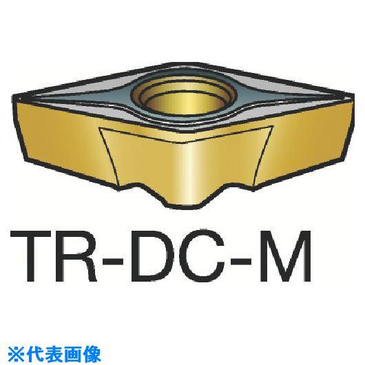 ■サンドビック コロターンTR 旋削用ポジ・チップ 2025 2025 10個入 〔品番:TR-DC1308-M〕[TR-6036775×10]