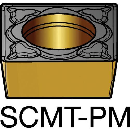 ■サンドビック コロターン107 旋削用ポジ・チップ 5015 5015 10個入 〔品番:SCMT〕[TR-6056237×10]