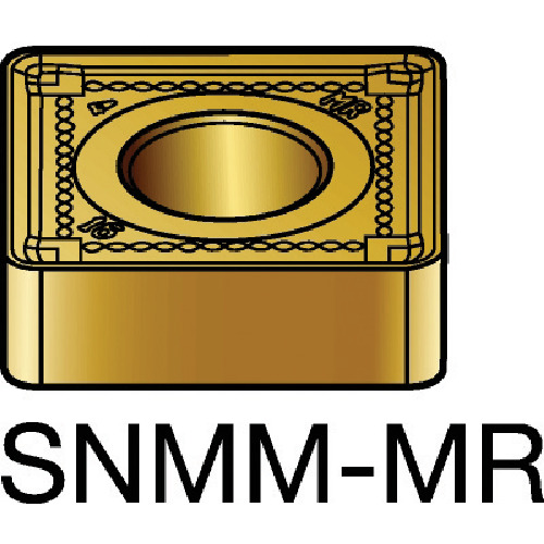 ■サンドビック T-MAX P 旋削用ネガ・チップ 2025 2025 10個入 〔品番:SNMM〕[TR-6057136×10]