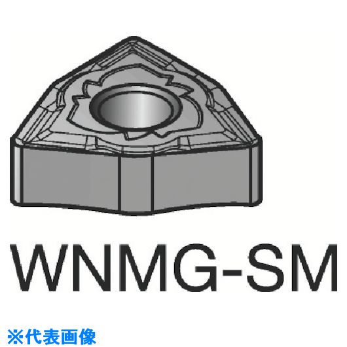 ■サンドビック T-MAX P 旋削用ネガ・チップ《10個入》〔品番:WNMG080408-SMR〕[TR-6059091×10]