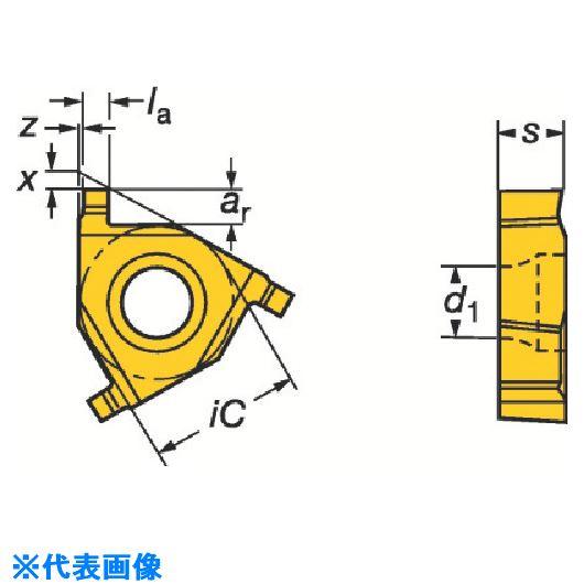 ■サンドビック T-MAX U-ロック 溝入れチップ 1020 1020 10個入 〔品番:L154.0G-11CC01-110〕取寄[TR-6063128×10]