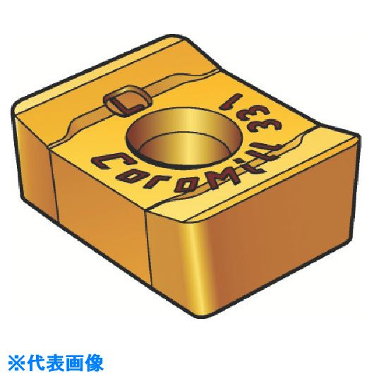 ■サンドビック コロミル331用チップ 1040 1040 10個入 〔品番:L331.1A-11〕取寄[TR-6065872×10]