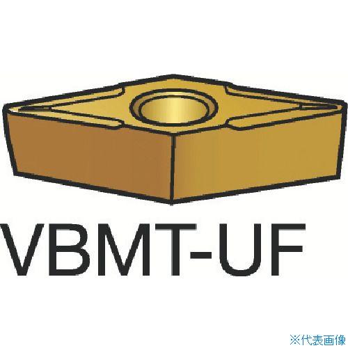 ■サンドビック コロターン107 旋削用ポジ・チップ 235 235 10個入 〔品番:VBMT〕[TR-6066518×10]