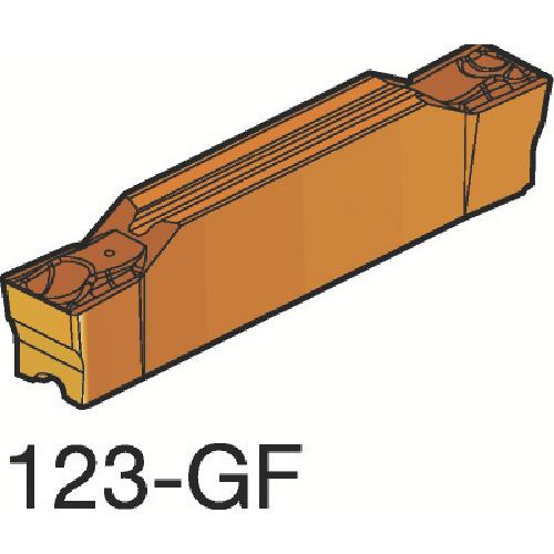 ■サンドビック コロカット2 突切り・溝入れチップ H13A H13A 10個入 〔品番:N123F2-0246-0003-GF〕[TR-6074359×10]
