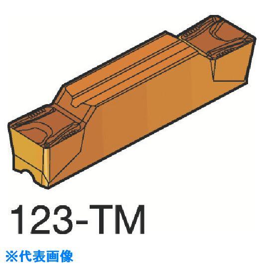 ■サンドビック コロカット2 突切り・溝入れチップ H13A H13A 10個入 〔品番:N123G2-0300-0004-TM〕取寄[TR-6074707×10]