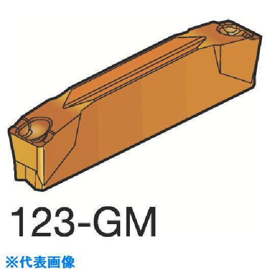 ■サンドビック コロカット2 突切り・溝入れチップ H13A H13A 10個入 〔品番:N123G2-0318-0003-GM〕[TR-6074766×10]