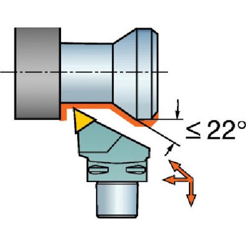 ■サンドビック コロマントキャプト T-MAX P用カッティングヘッド  〔品番:C5-MTJNR-35060-16〕[TR-6089631]
