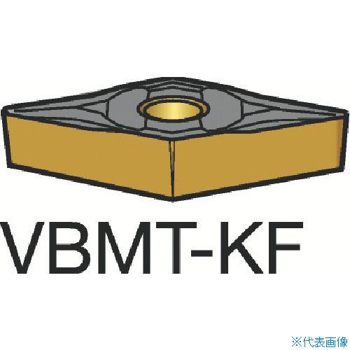 ■サンドビック コロターン107 旋削用ポジ・チップ H13A H13A 10個入 〔品番:VBMT〕[TR-6174230×10]