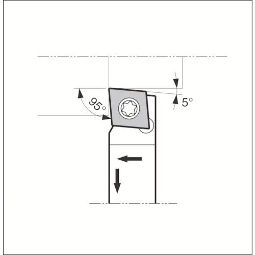 ■京セラ スモールツール用ホルダ〔品番:SCLCR1010JX-09FF〕[TR-6488935]