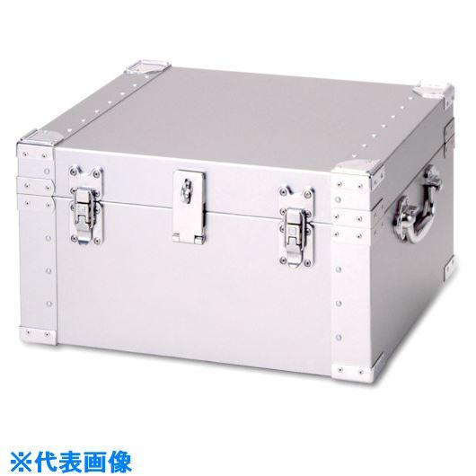 ■DAITO アルミ合金製トランク〔品番:SBK-2〕[TR-7215959]【個人宅配送不可】