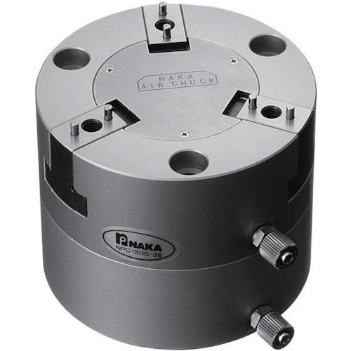 ■ナカ エアチャック 3インチ 据置ロボット対応型〔品番:NPC-3RS-F38〕[TR-7235968]【個人宅配送不可】