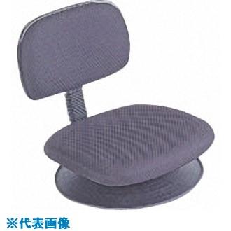 ■ロアス 座椅子 W455×D500×H460MM ブラック  〔品番:RZF-103BK〕取寄[TR-7243723]
