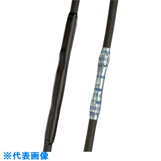 ■パンドウイット 粘着剤付き熱収縮チューブ 収縮率3:1 標準タイプ (25本入)  〔品番:HSTTA38-48-Q〕[TR-7310901]