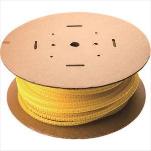 ■パンドウイット 電線保護チューブ スリット型スパイラル パンラップ 束線径18.3ΦMM 30M巻き 黄 PW75F-C4〔品番:PW75F-C4〕[TR-7315261]