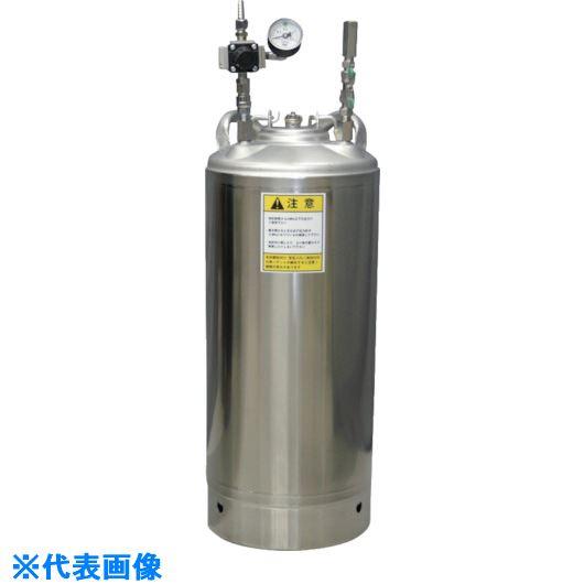 ■扶桑 ステン圧送タンクCT-N20T-SR 耐溶剤性〔品番:CT-N20T-SR〕[TR-7316747]【個人宅配送不可】
