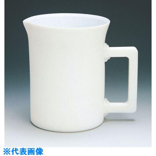 ■フロンケミカル フッ素樹脂(PTFE)  手付ビーカー 500cc〔品番:NR0200-001〕[TR-7348088]