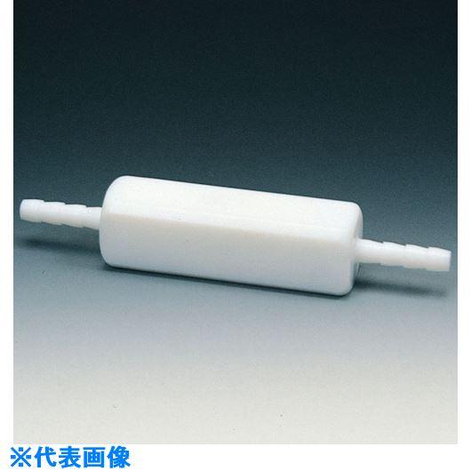 ■フロンケミカル フッ素樹脂(PTFE) チェックバルブB型 8Φ〔品番:NR1115-002〕[TR-7351071]