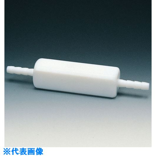 ■フロンケミカル フッ素樹脂(PTFE) チェックバルブB型 10Φ〔品番:NR1115-003〕[TR-7351089]