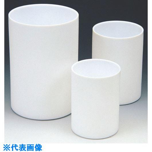 ■フロンケミカル フッ素樹脂(PTFE)円筒容器肉薄 5000cc〔品番:NR1149-008〕[TR-7351232]