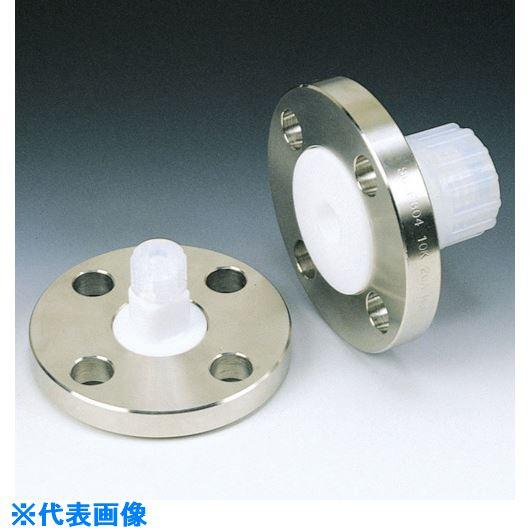■フロンケミカル SUS+フッ素樹脂フランジアダプター 15A-10K 6パイ  〔品番:NR1232-001〕[TR-7352280]