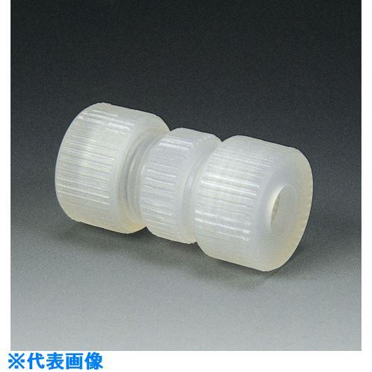 ■フロンケミカル PCTFE 3Fユニオン(ガラス・金属パイプ接続用) 12パイ  〔品番:NR1233-004〕[TR-7352361]